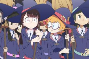 Little Witch Academia film complet