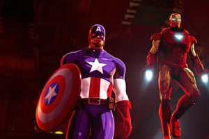 Iron Man & Captain America: Heroes United film complet