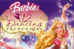 Barbie au bal des douze princesses film complet