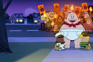 The Spooky Tale of Captain Underpants Hack-a-ween film complet