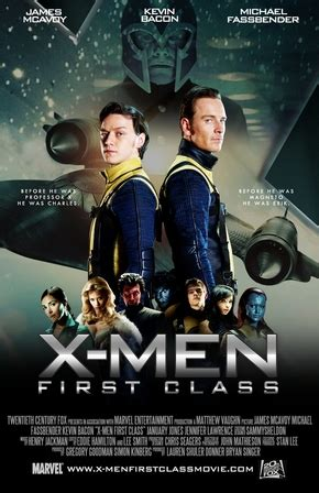 X-Men - Le Commencement streaming vf