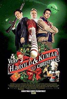Harold et Kumar 3 - A Very Harold & Kumar 3D Christmas streaming vf