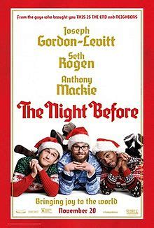 The Night Before 2015 streaming vf