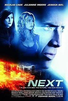 Next film 2007 streaming vf