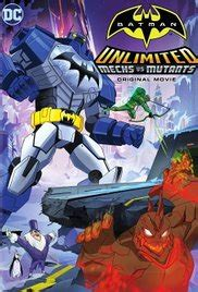 Batman Unlimited: Mech vs. Mutants 2016 streaming vf