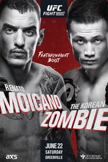 UFC Fight Night 154: Moicano vs Korean Zombie 2019