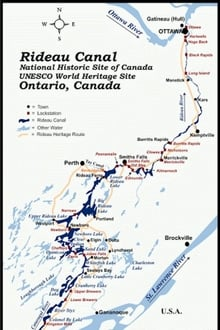 TRIPPING The Rideau Canal series tv